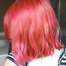 what color does pink and blue make help my pink hair keeps fading to this salmon color will adding
