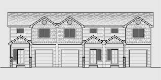 open floor plan home plans triplex plans with basement row house plans open floor plan