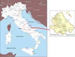 Campania Italy Map by International Study Of Re Regions Regione Of Abruzzo Italy