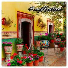 Mexican Patio Decor Best 25 Mexican Garden Ideas On Pinterest Southwestern Outdoor