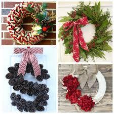 diy wreaths awesome diy wreaths the happy housie