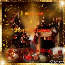 i wish you a merry and a happy new year my friend