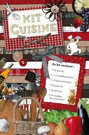 scrapbooking cuisine kit cuisine kit de scrapbooking presse du cdip