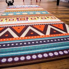 Aztec Kitchen Rug Novelty Door Mat Rug Porch Patio Floor Decor Living Room Carpet