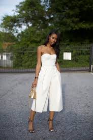 white jumpsuits and rompers for in crisp white this chic and jumpsuit is the