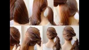 fan and sock bun hair tutorial video dailymotion hairstyle for college girl dailymotion hairstyles easy youtube