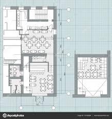 floor architecture plan symbols depositphotos 137425964 stock
