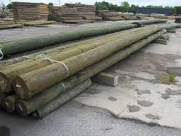 treated posts poles u0026 columns industrial wood products