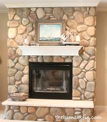 rock fireplaces fabulous a home for the ages big sky journal with