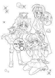 jewelpet coloring pages for kids printable free