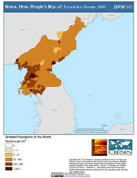 Korea Map Asia by Maps Gridded Population Of The World Gpw V3 Sedac