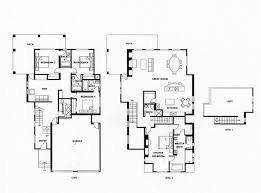 duplex plans with garage and basement bedroom modern house