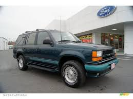 Ford Explorer 1994 - 1994 deep emerald green metallic ford explorer limited 4x4