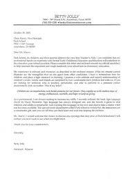 cover letter for teacher job application doc example intended