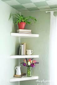 Apartment Interiors Best Floating Corner Shelves Ideas On Shelf