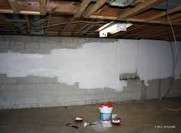 How To Paint A Cement Floor Basement Part 1 Painting Our Basement U2013 The Walls Don U0027t Suppress The Jess
