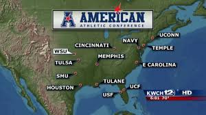 aac map wichita state accepts invitation to the aac