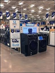 does lowes sell their kitchen displays appliance merchandising inducements sign fixtures up