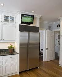 tv in kitchen ideas kitchen cabinets ideas tv in kitchen cabinet inspiring photos
