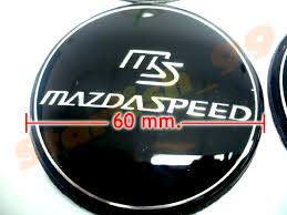 mazda emblem black mazdaspeed wheel center emblem mazda3 mx5 rx7 cx7