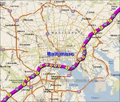 traffic map i 95 baltimore traffic maps and road conditions