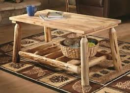 Log Outdoor Furniture by Log Coffee Table Ebay