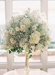 White Roses Centerpiece by Best 25 Babies Breath Centerpiece Ideas Only On Pinterest