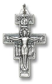 san damiano crucifix metal san damiano crucifix 50 pk devotional items