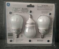 cfl ceiling fan bulbs ge energy smart cfl ceiling fan bulb 11w candelabra base 3pk ebay