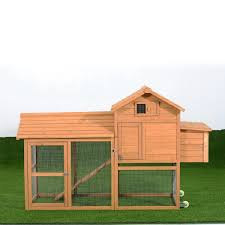 amazon com pawhut deluxe portable backyard chicken coop w