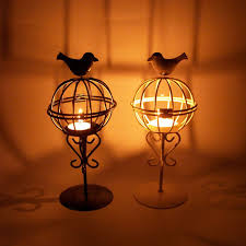 small tea light candles creative small candle holders decorative bird cages weddings room