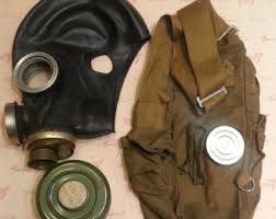Halloween Gas Mask Costume Military Mask Etsy