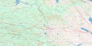 Rocky Mountain Map Rocky Mountain House Topo Map Free Online Nts 083b Ab
