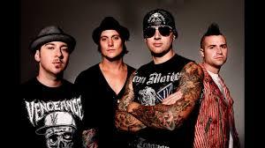 Avenged Sevenfold Flag Avenged Sevenfold God Damn The Stage Lyrics Youtube