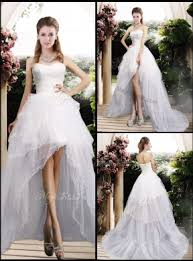 high low wedding dress new arrivals high low wedding dresses with ruffles mydresscity