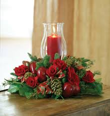 christmas candle centerpiece ideas traditional christmas candle centerpiece delivered in baton
