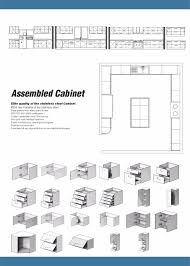 Kitchen Cabinets From China by China Factory Stainless Steel Autocad Modern Kitchen Cabinets