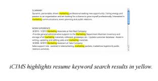 What Is Resume Parsing An Applicant Tracking System Uncovered Icims Jobscan Blog