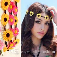 braided headbands flowers headband braided headbands bohemian hairband