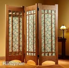 partition any living space to make a private room family handyman