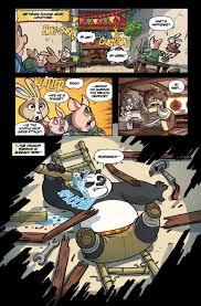 comic book preview kung fu panda 3 bounding comics