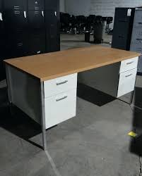 Vintage Metal Office Desk High Tech Office Desk Home Design Image For L Shaped Desk