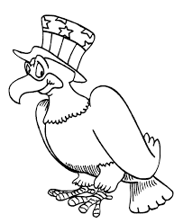 Usa Coloring Pages Eagle With Usa Hat Patriotic To Make Do Pinterest by Usa Coloring Pages
