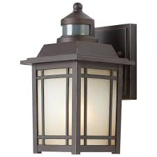 Lantern Wall Sconce Motion Sensing Outdoor Wall Mounted Lighting Outdoor Lighting