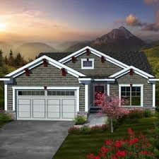 craftsman style home turn the garage to the side craftsman ranch house plans with car garage turning style 3