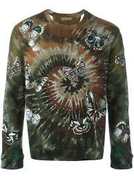 valentino sports valentino camouflage print sweatshirt men