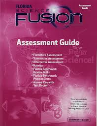 holt mcdougal science fusion florida assessment guide grade 6