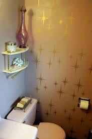 bathroom stencil ideas retro wall stencils patterns and tips from 8 reader projects