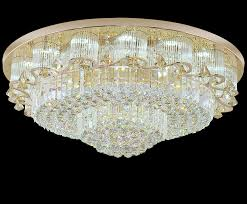 Ebay Ceiling Light Fixtures by Modern Led Crystal Ceiling Lamp Round Chandelier Living Room