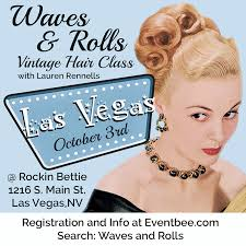 makeup classes las vegas las vegas waves and rolls vintage hair class bobby pin